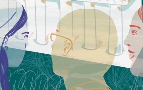 Safe school illustration