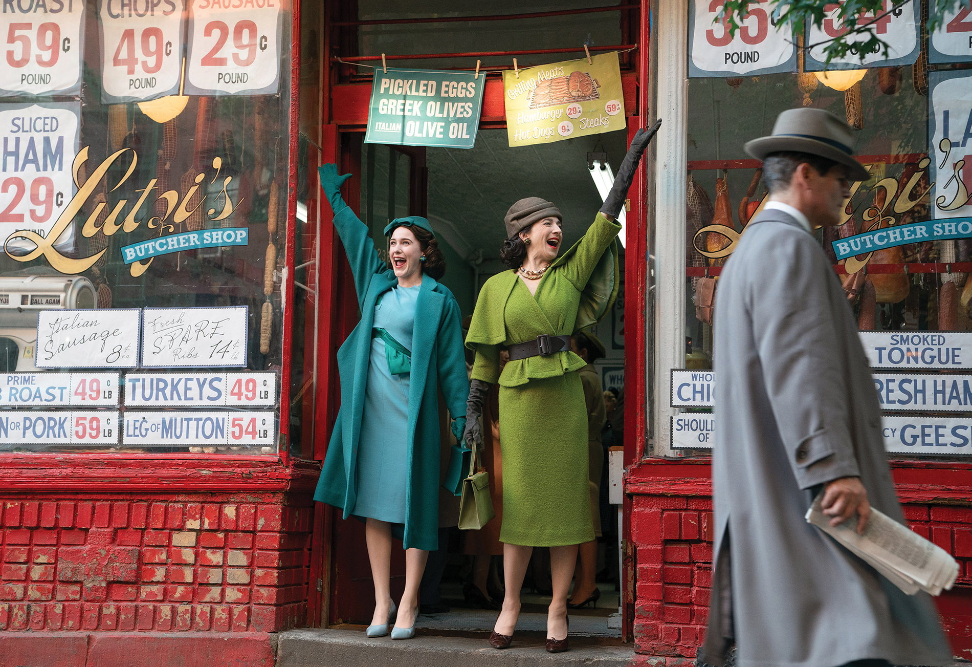 A scene from The Marvelous Mrs. Maisel