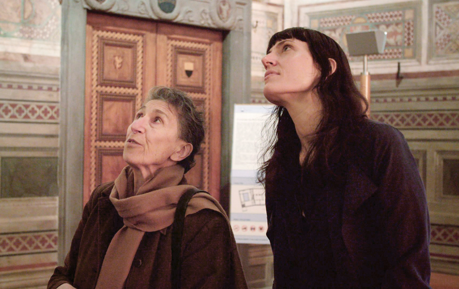 Photo of Silvia Federici and Astra Taylor