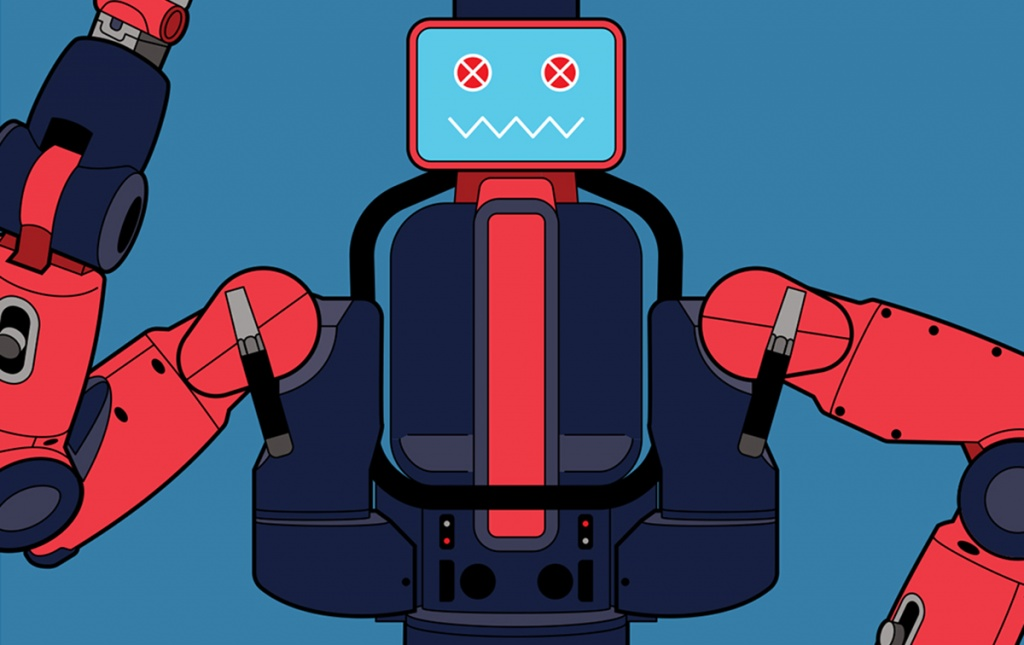 Illustration of a robot