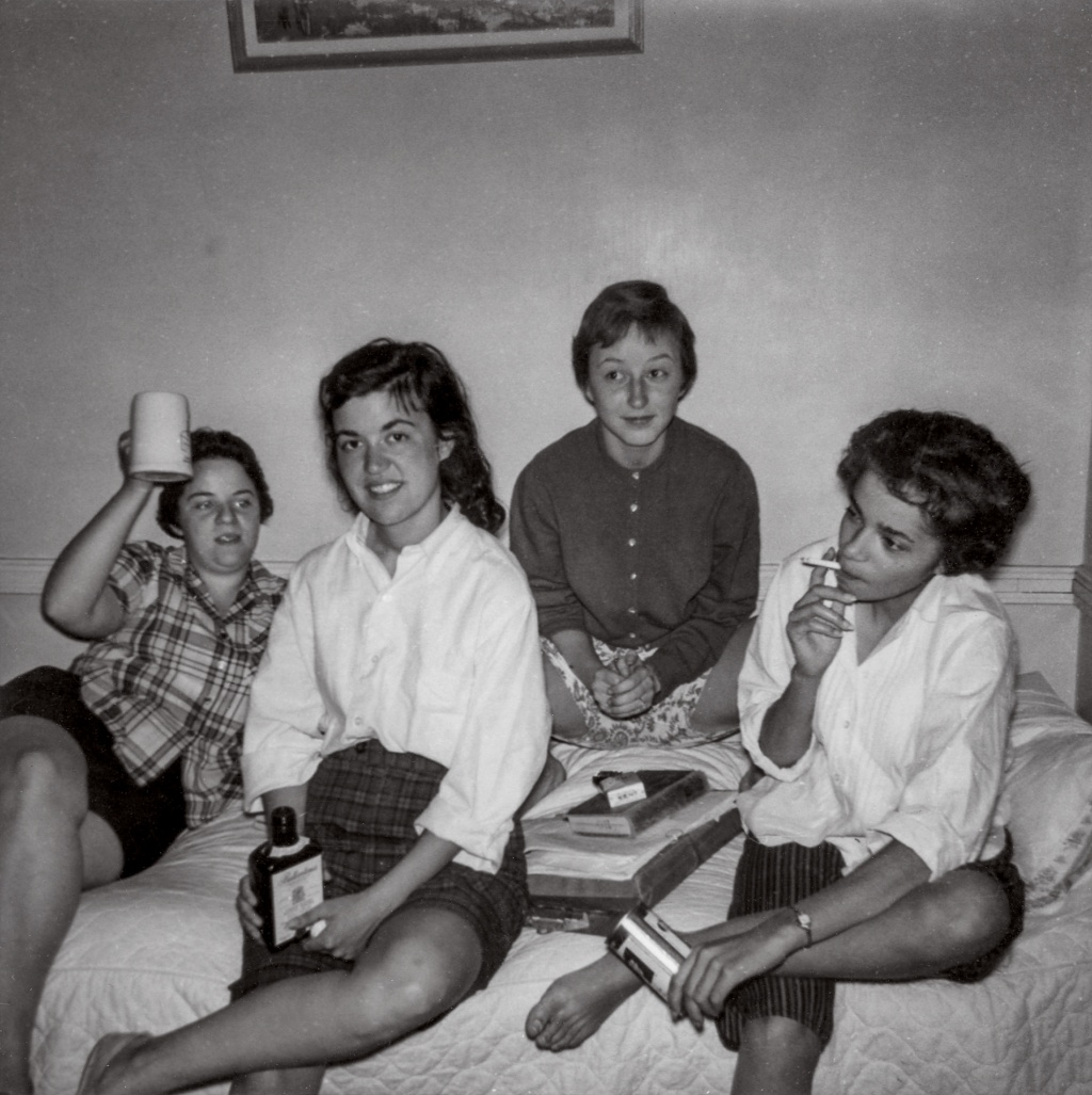 Photo of Pembroke Hangout  - girls in dorm room who quash stereotypes
