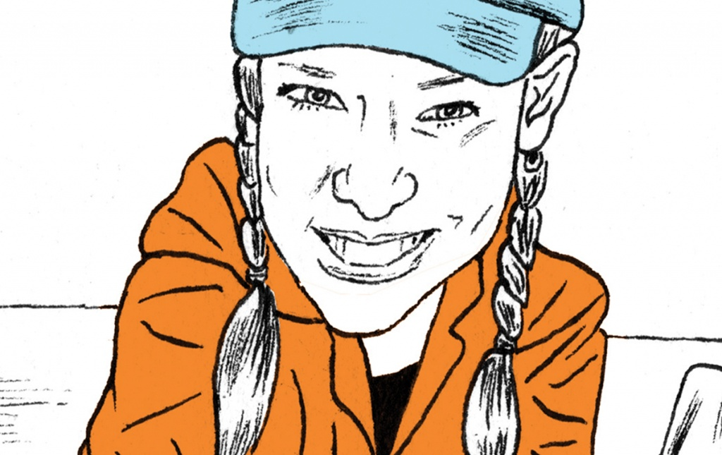 Illustration of Julie Esdale '09 PhD