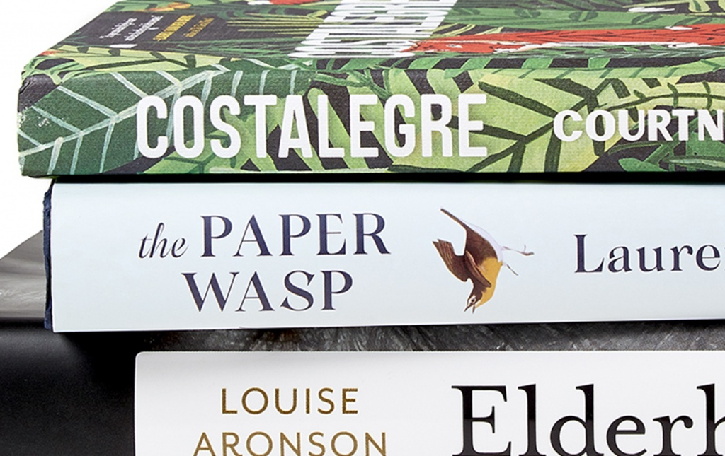 Costalegre by Courtney Maum '01; Elderhood: Redefining Aging, Transforming Medicine, Reimagining Life by Louise Aronson '86; and The Paper Wasp by Lauren Acampora '97