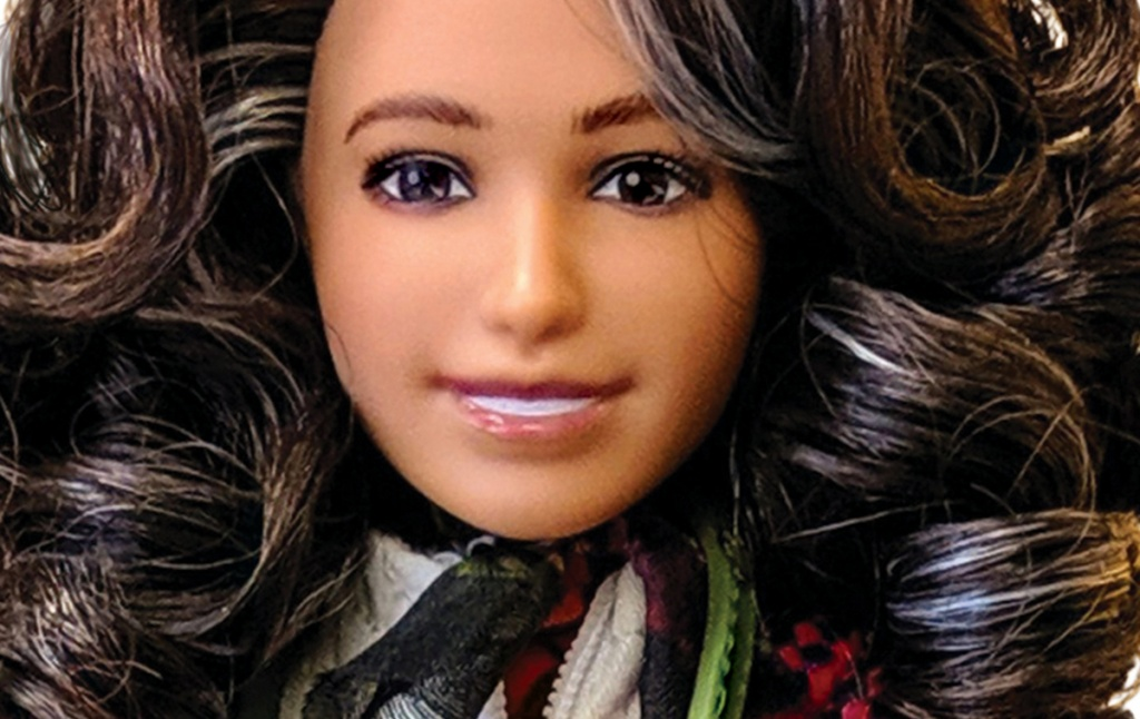 Doll in the likeness of Nalini Nadkarni