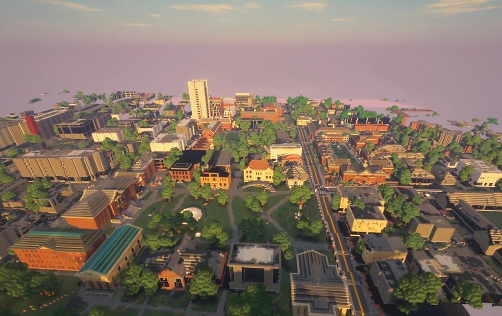 Minecraft campus