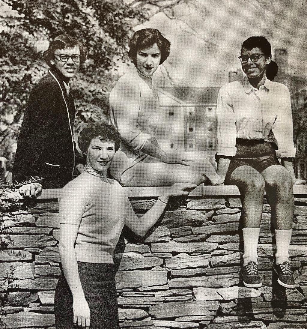 Photo of Marva E. Dates Belt, Loretta Dates Sheilds, Marjorie Filson Zettler and Mary Ann Filson Smith