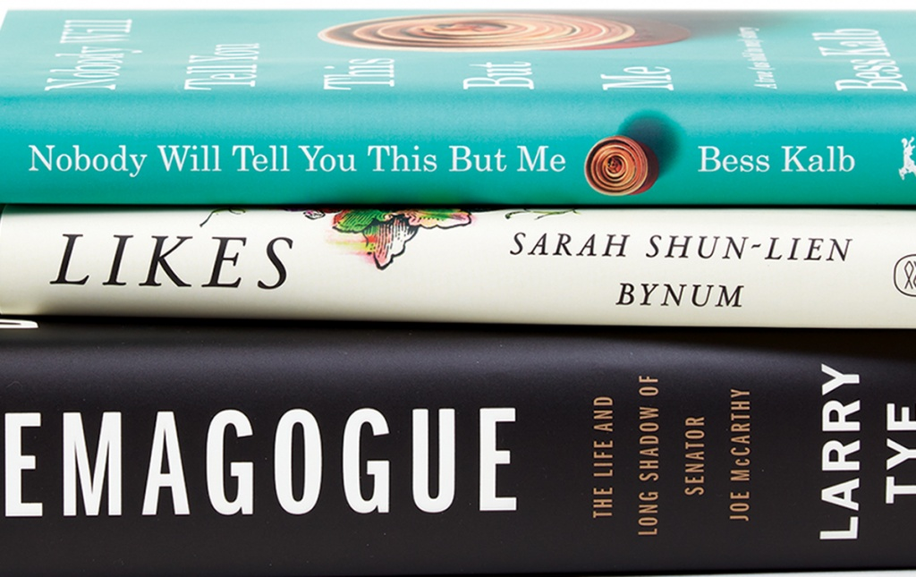 Books by Bess Kalb '10, Sarah Shun-lien Bynum '95, and Larry Tye '77