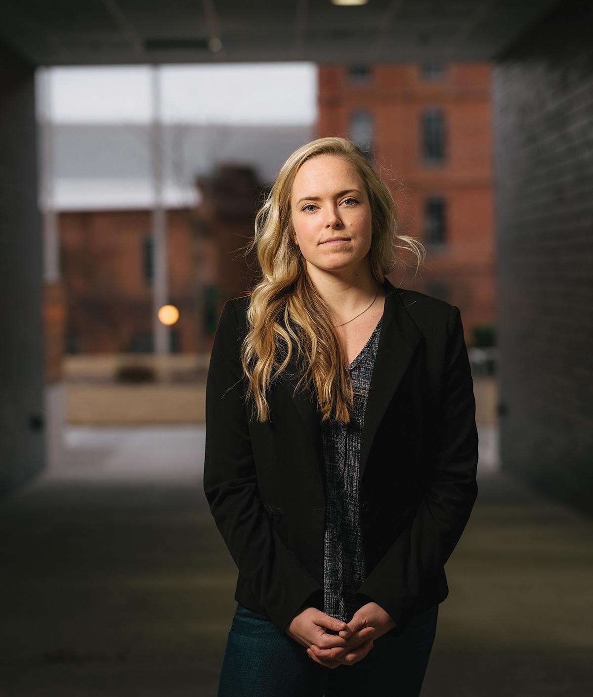 Photograph of Tori Kinamon.