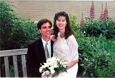 Photo of Randy Pausch and his wife.