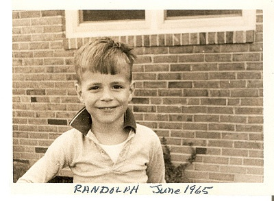 Photo of young Randy Pausch from 1965.