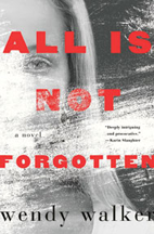 Image of book cover for 'All is Not Forgotten': a black and white image of a woman's face.