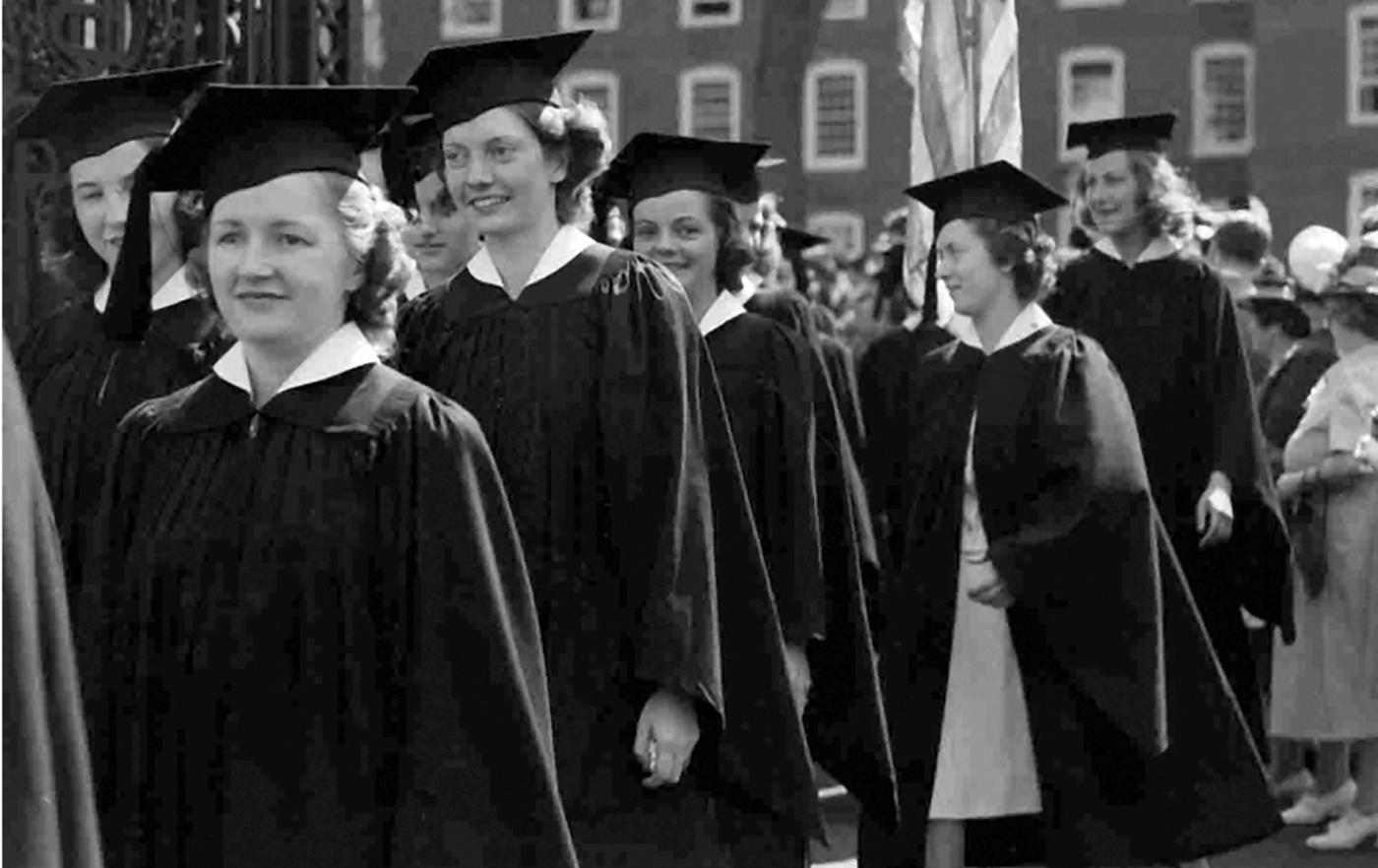 Pembroke grads from 1940.