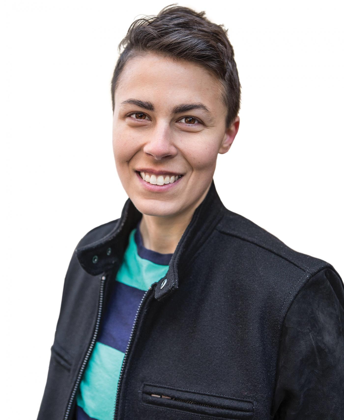 Portrait of Jennifer Zeynab Joukhadar