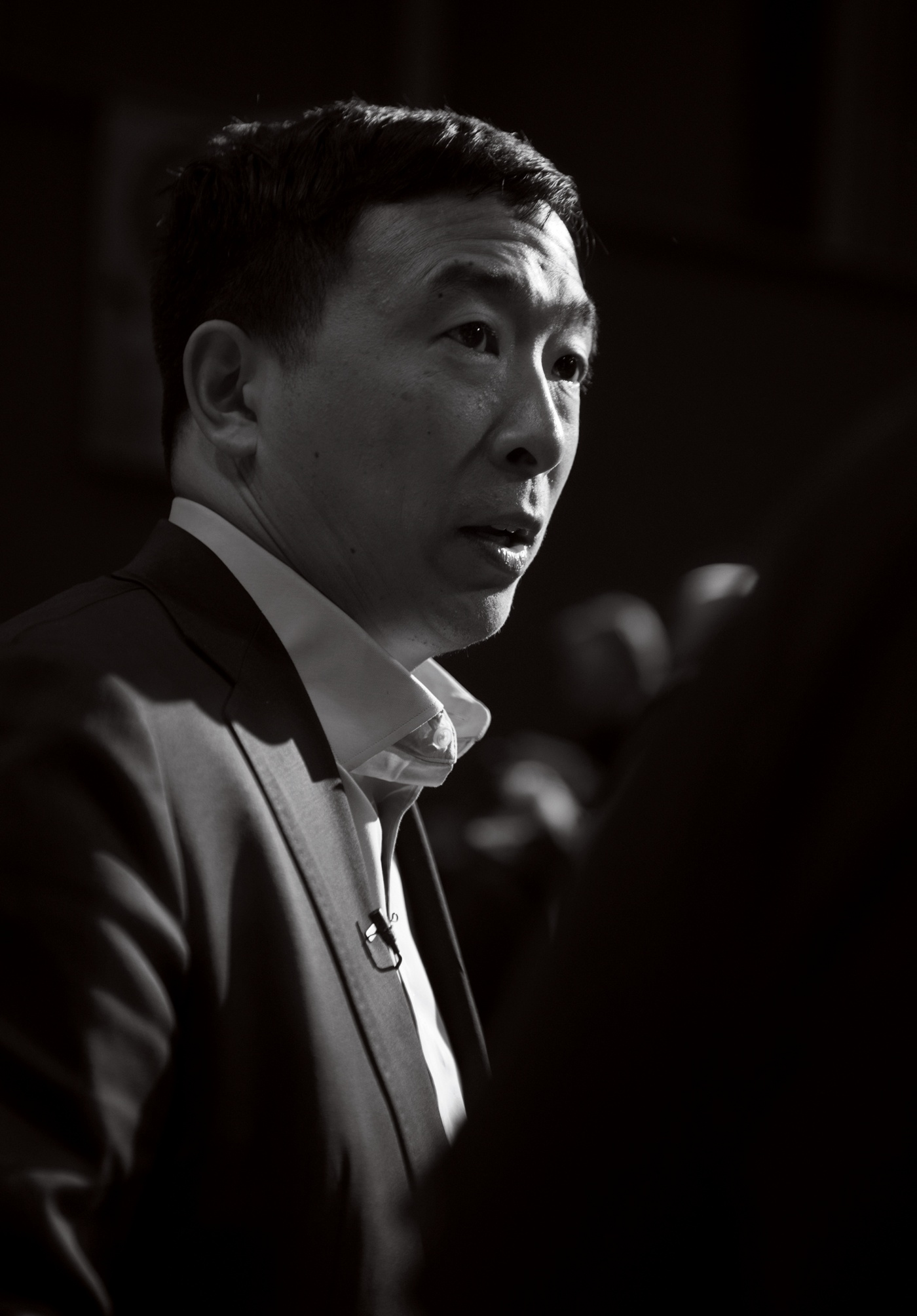 portrait of Andrew Yang