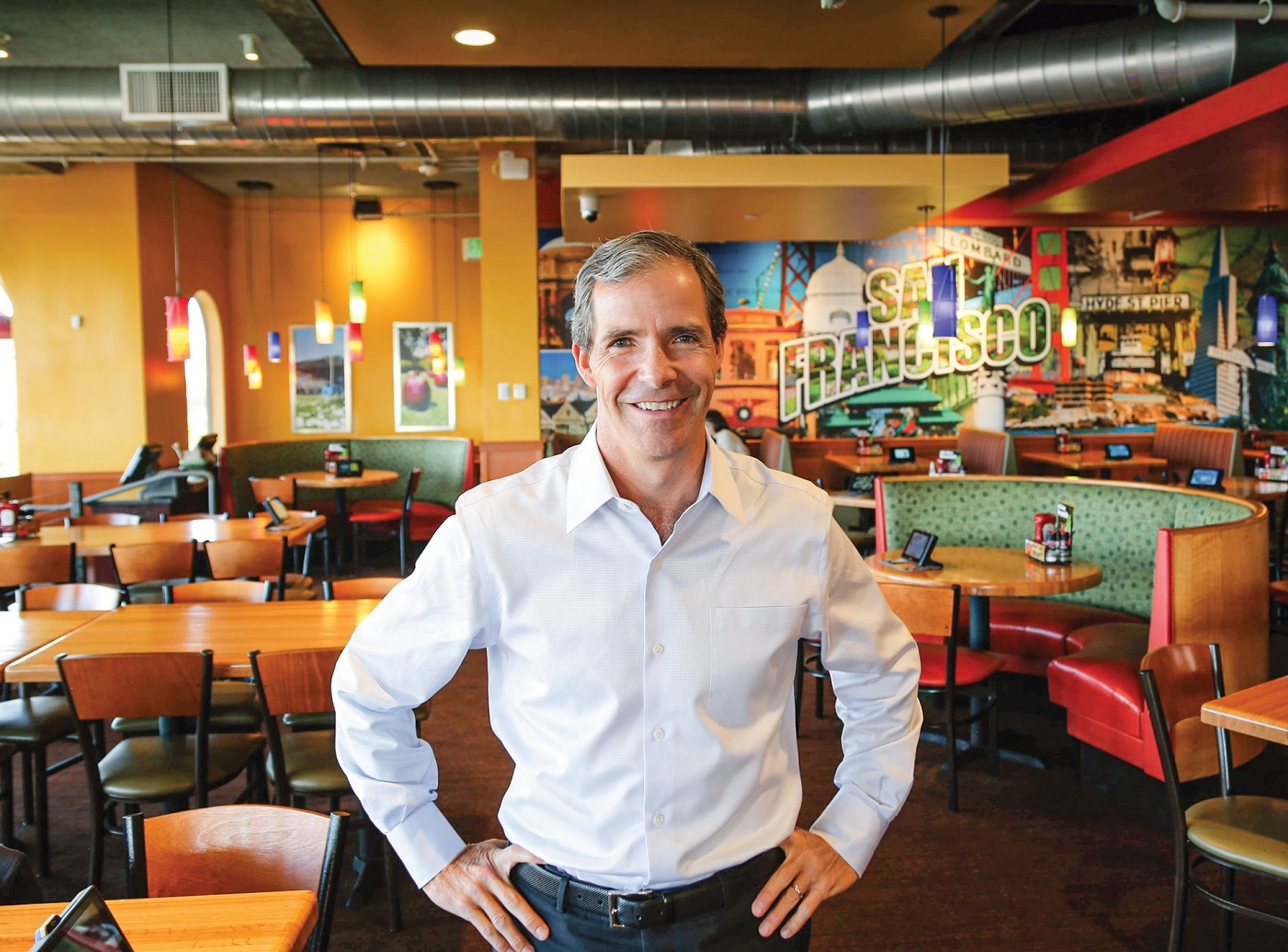 Photo of Greg Flynn '86 of The Flynn Restaurant Group