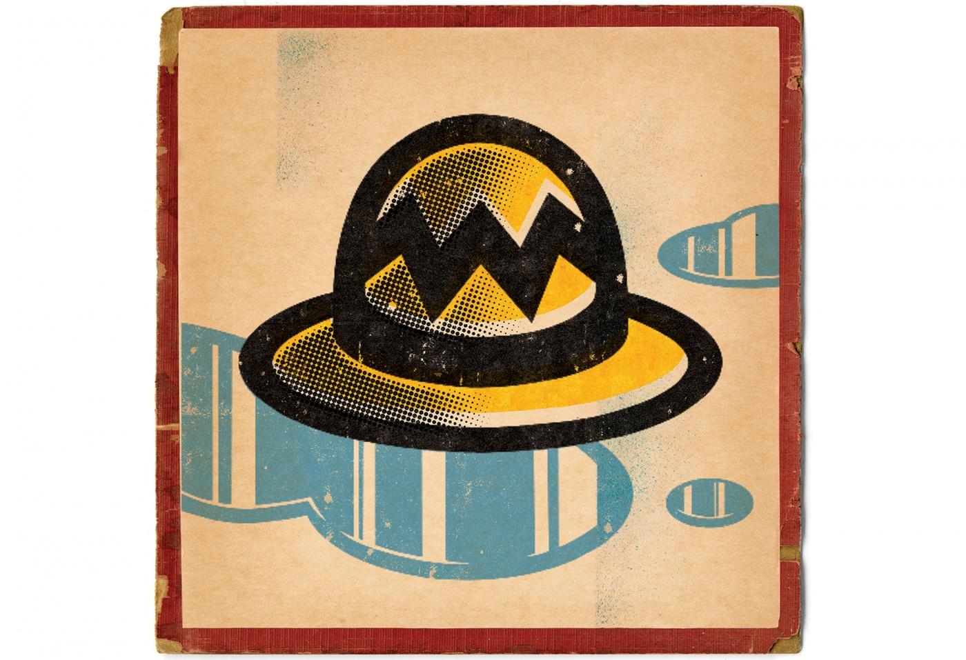 illustration of Charlie Brown's hat