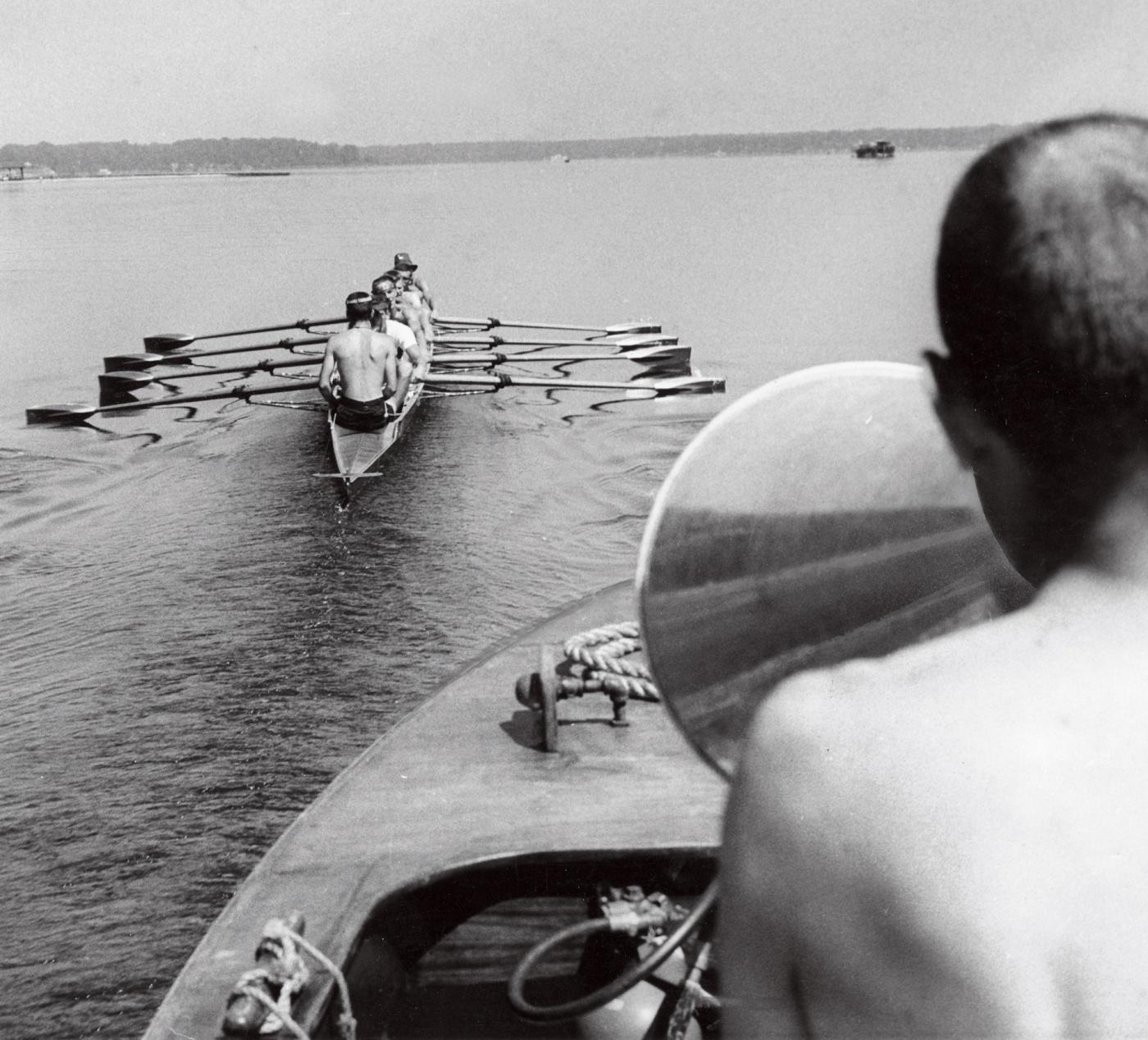 1960 crew training, coach's view