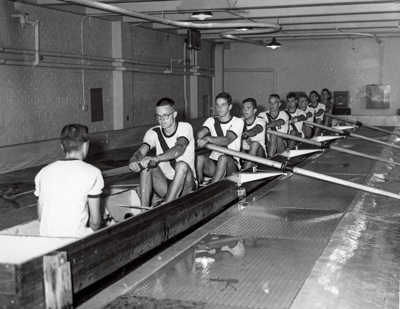 1960 crew training indoors