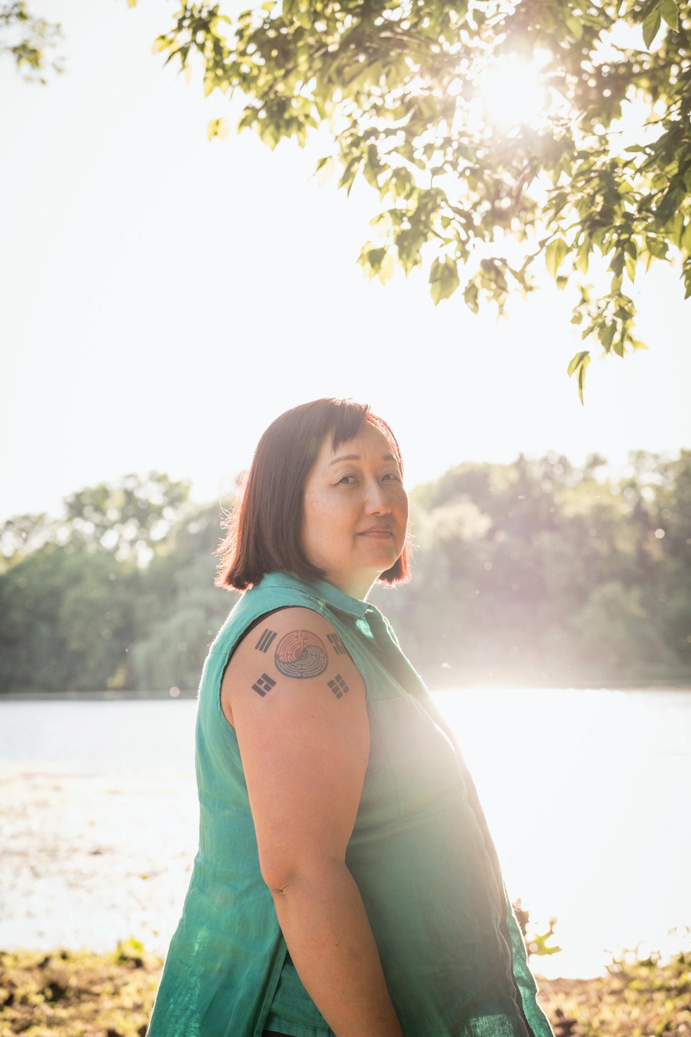 Portrait of Heidi Kim '87