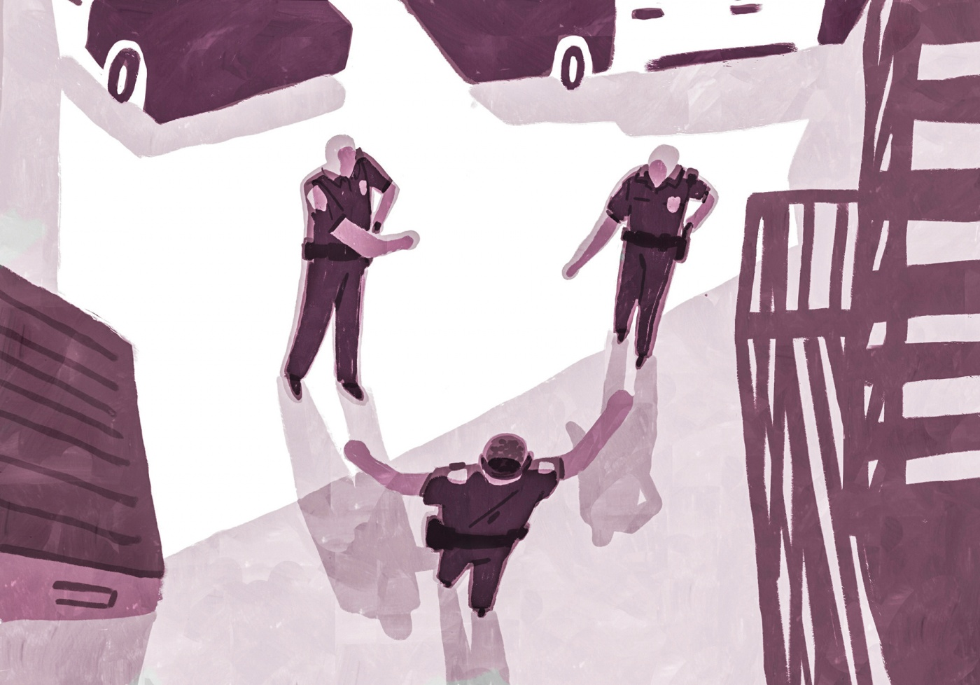 Racial justice: on the police force