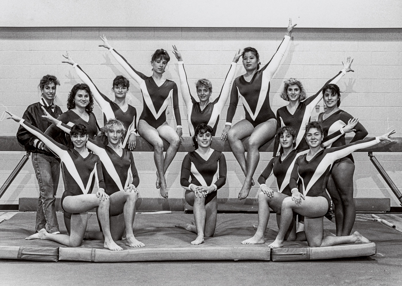 Women's Gymnastics team 89-90