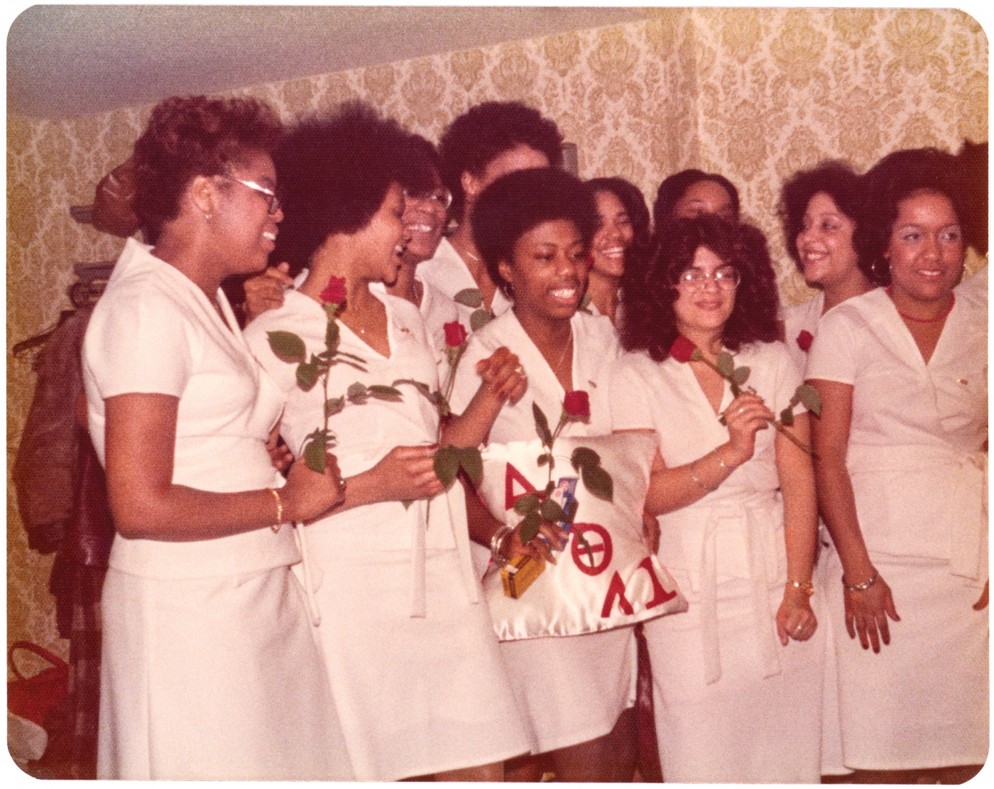 The 1976 Delta induction ceremony