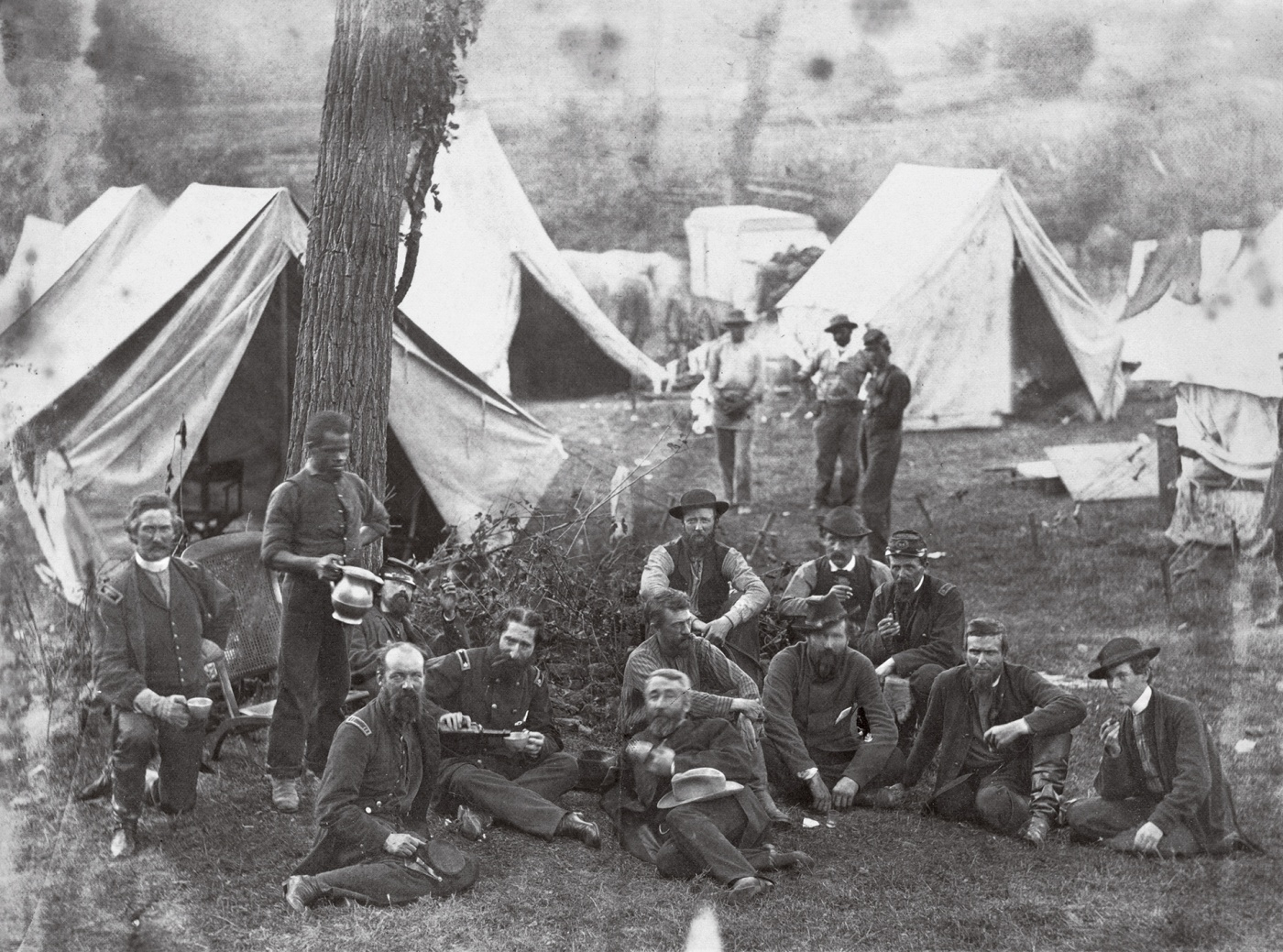 Civil War soldiers and commanders