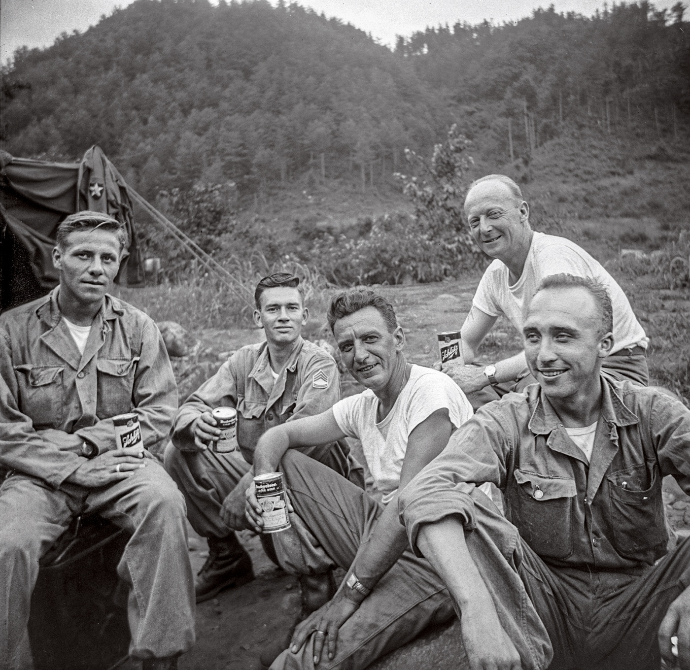 American soldiers in Korea