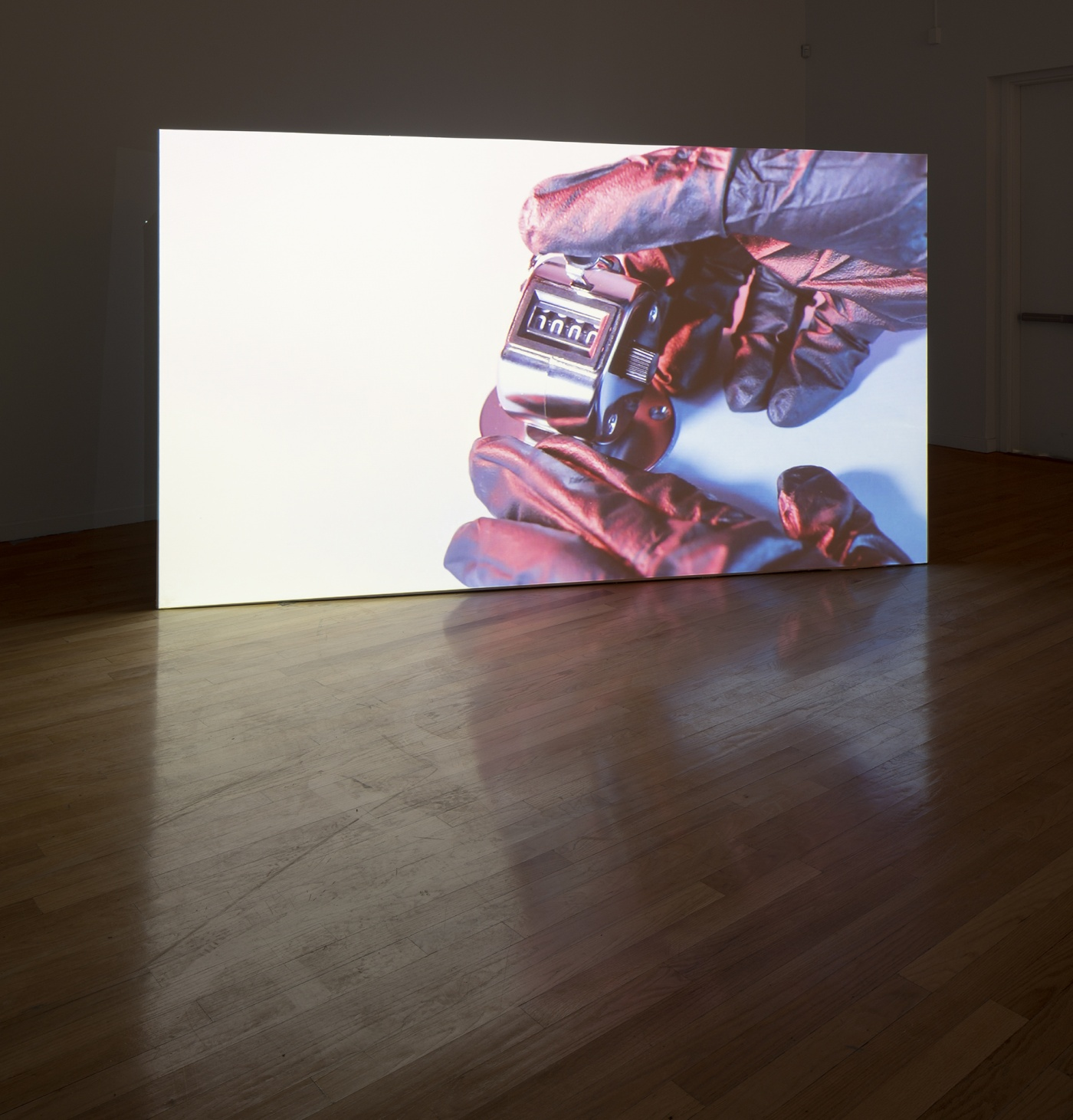 """slide 1_""""Jibade-Khalil Huffman:  Now That I Can Dance,"""" 2020. Tufts University Art Galleries, installation view."""