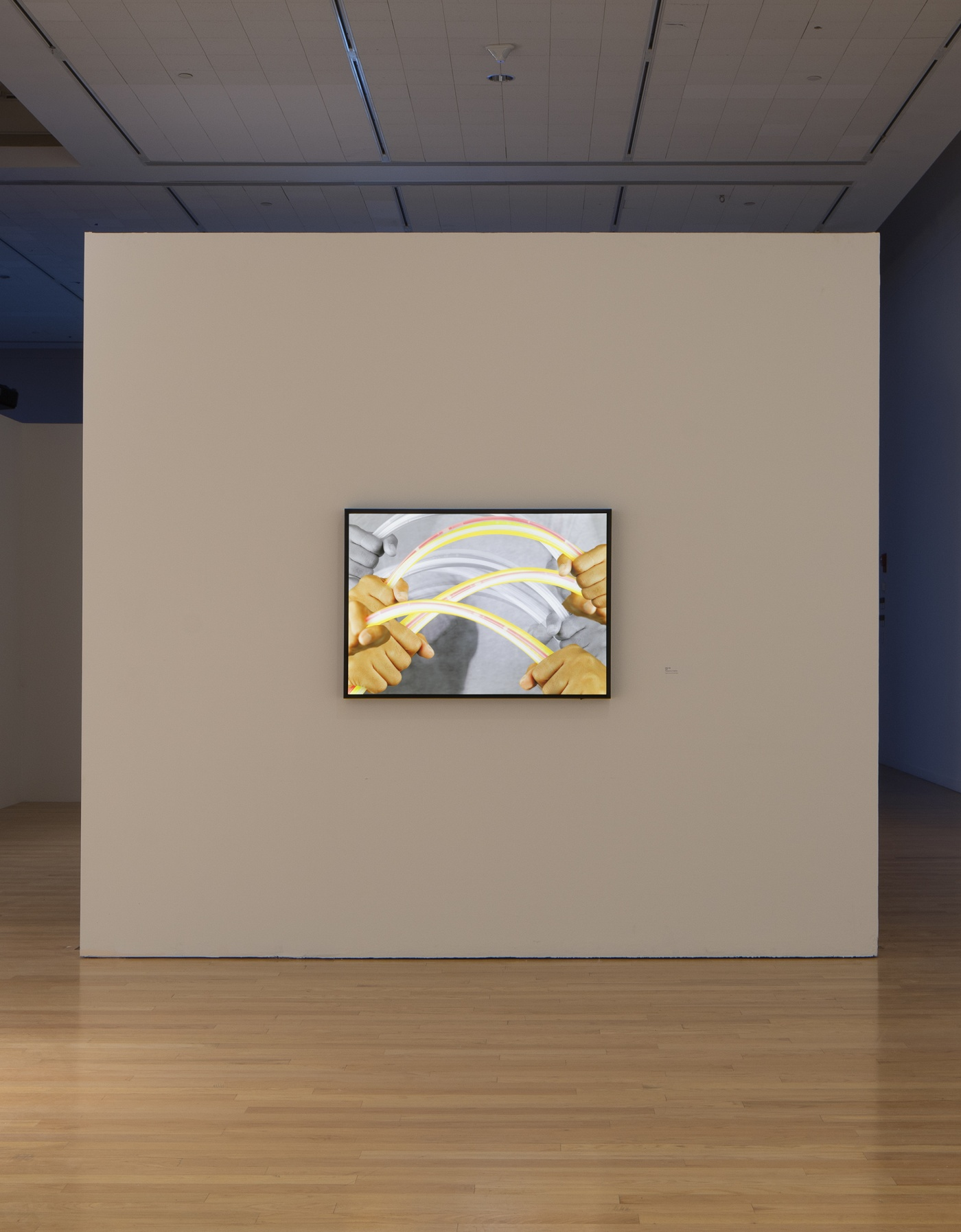"""slide 10_""""Jibade-Khalil Huffman: Now That I Can Dance,"""" 2020. Tufts University Art Galleries, installation view."""