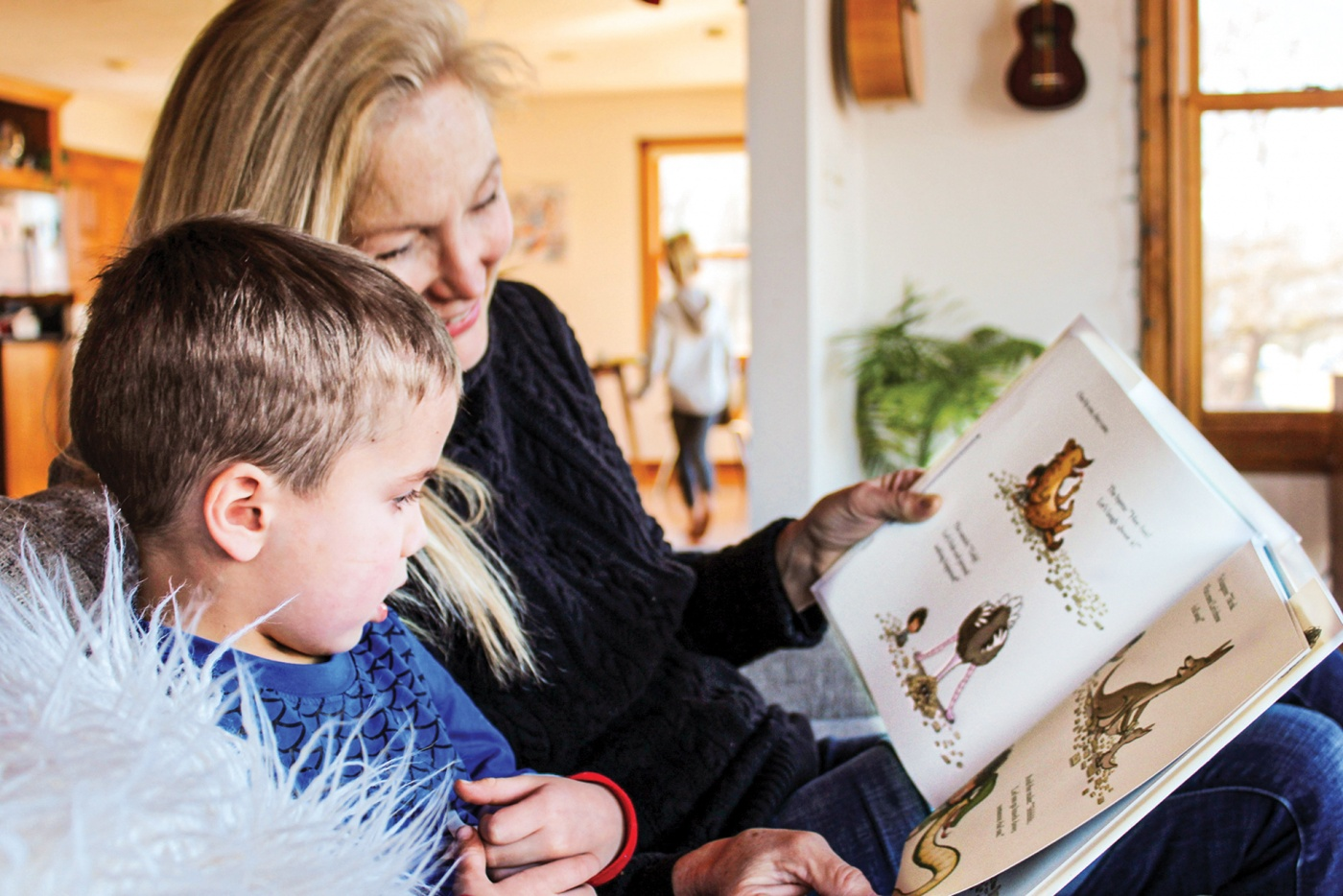Donna Baer with grandson Truman
