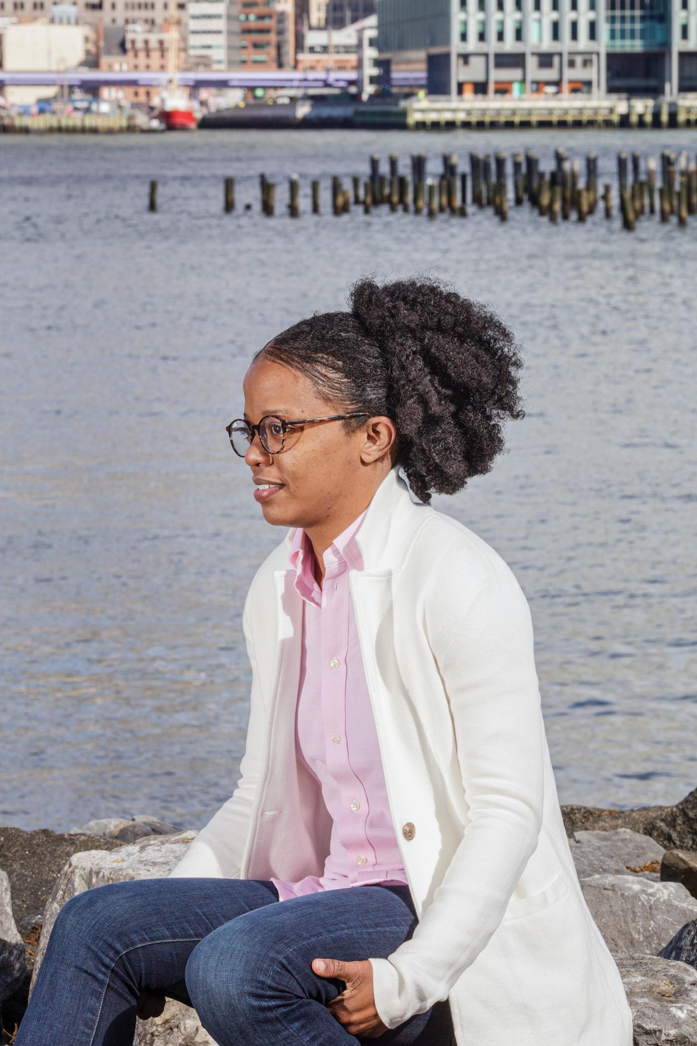 Bianca Brown at Brooklyn Bridge Park