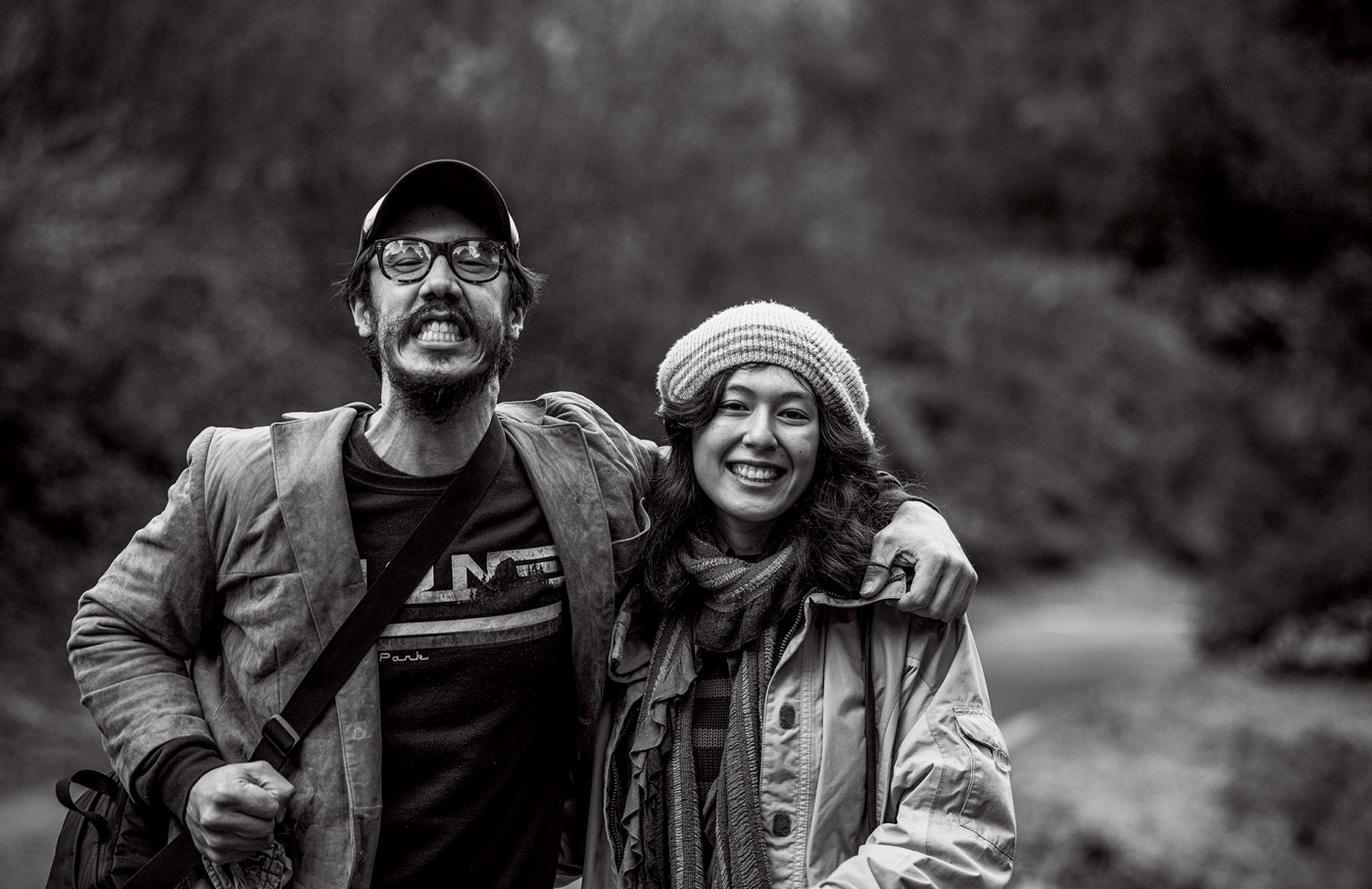 Image of Julian Saporiti and partner Emilia Halvorsen