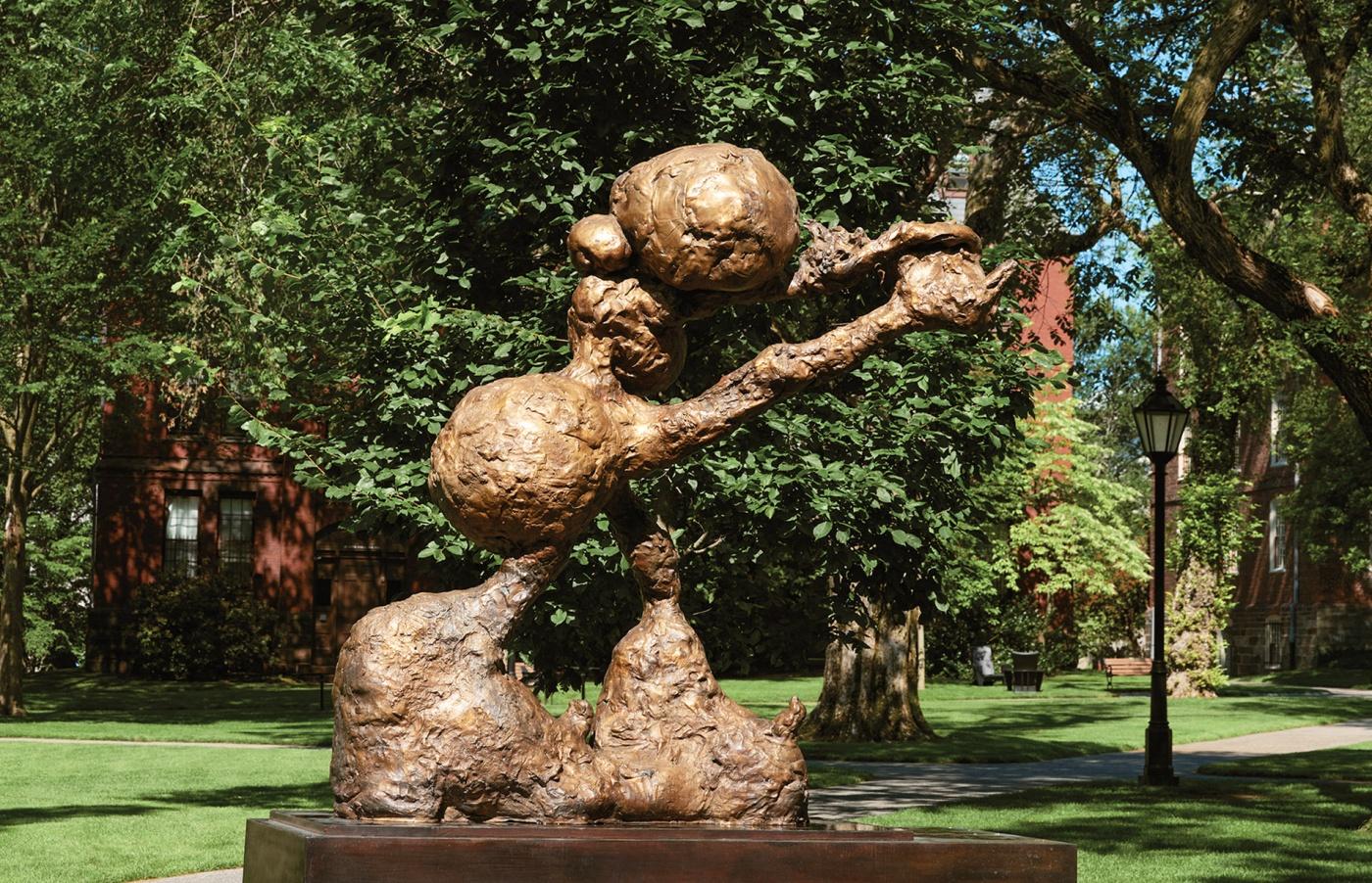 LCMTC sculpture Brown University
