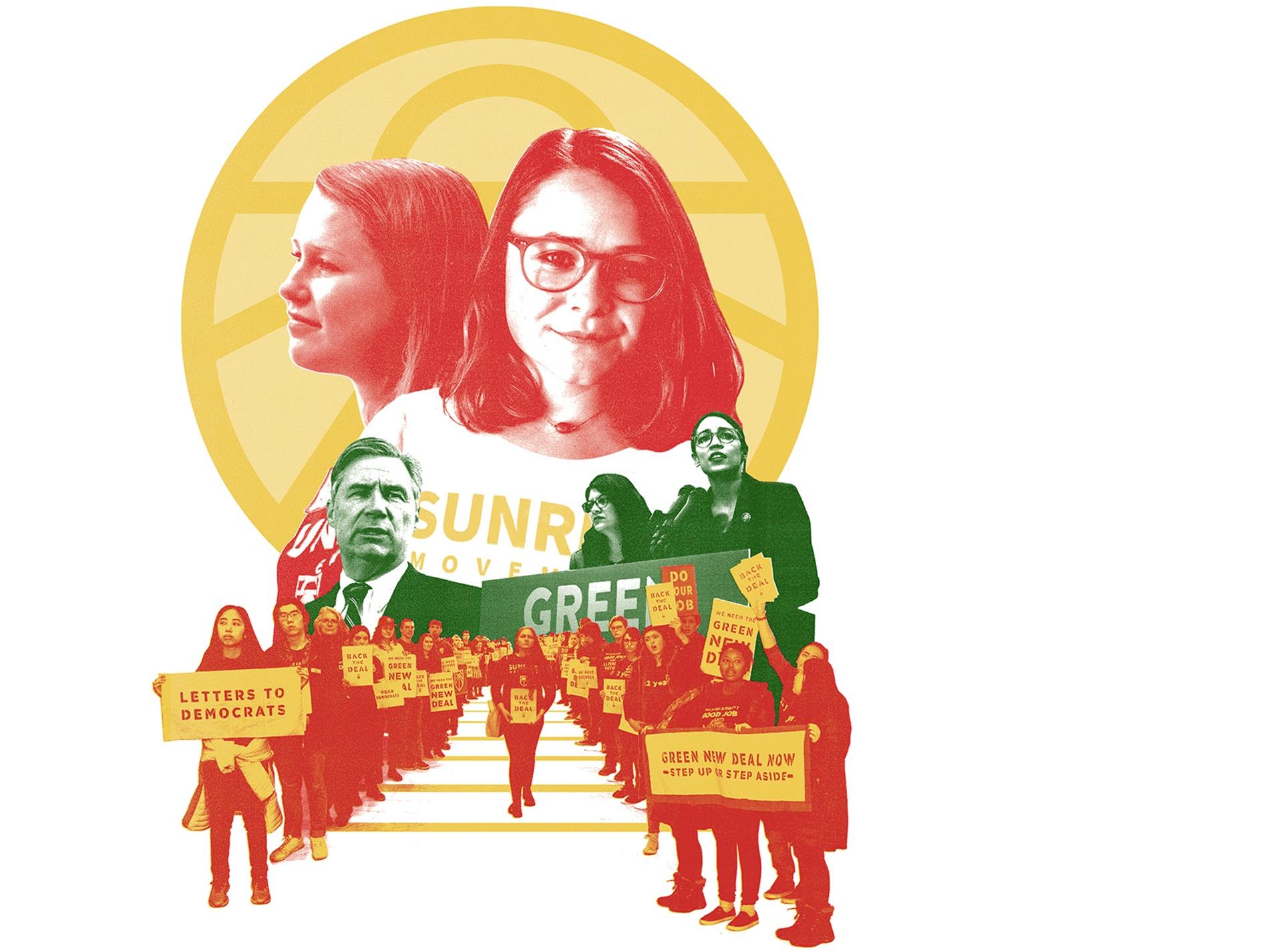 illustrated portrait of student Sunrise leaders
