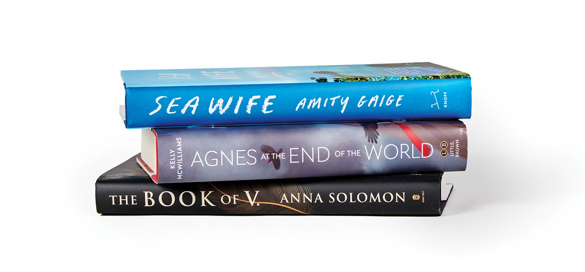 Books by Anna Solomon '98, Amity Gaige '95, and Kelly McWilliams '11