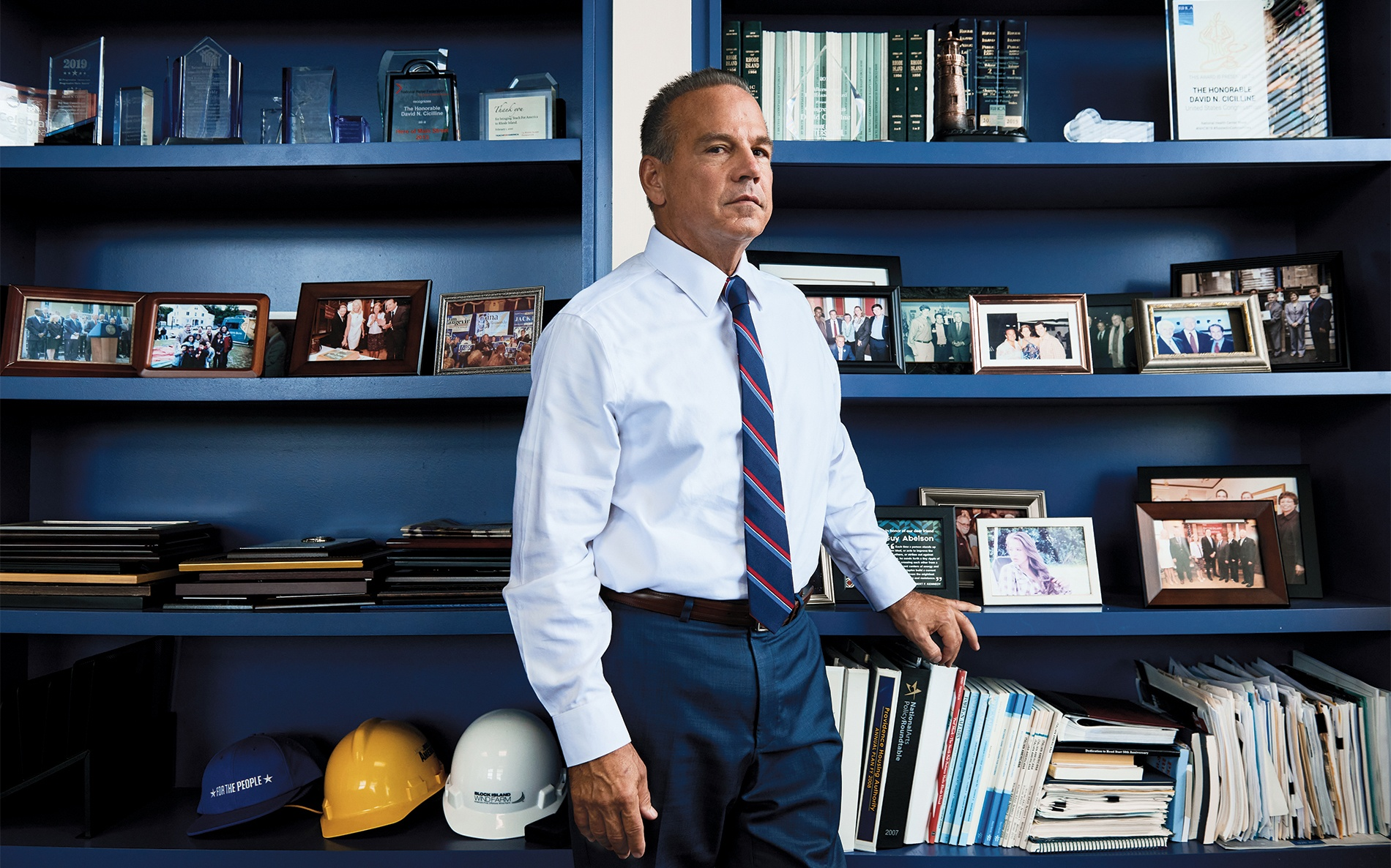 portrait of Congressman David Cicilline '83