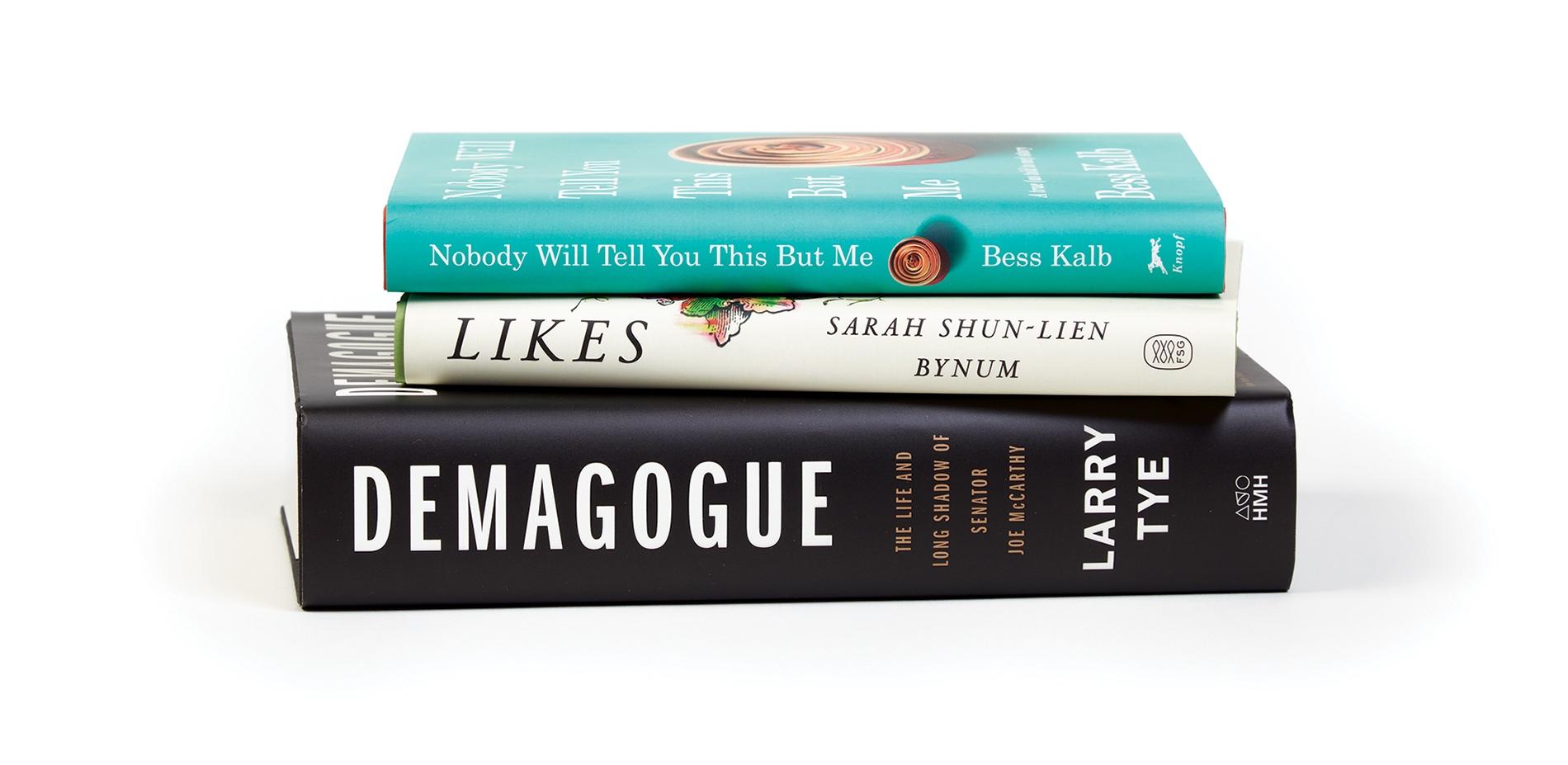 Books by Bess Kalb '10, Sarah Shun-lien Bynum '95, and Larry Tye '77