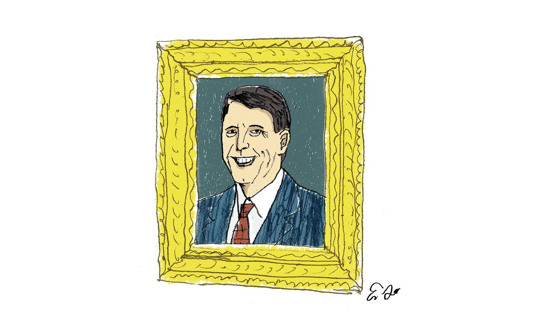 Illustration of Roger Bearden by Eric Hanson