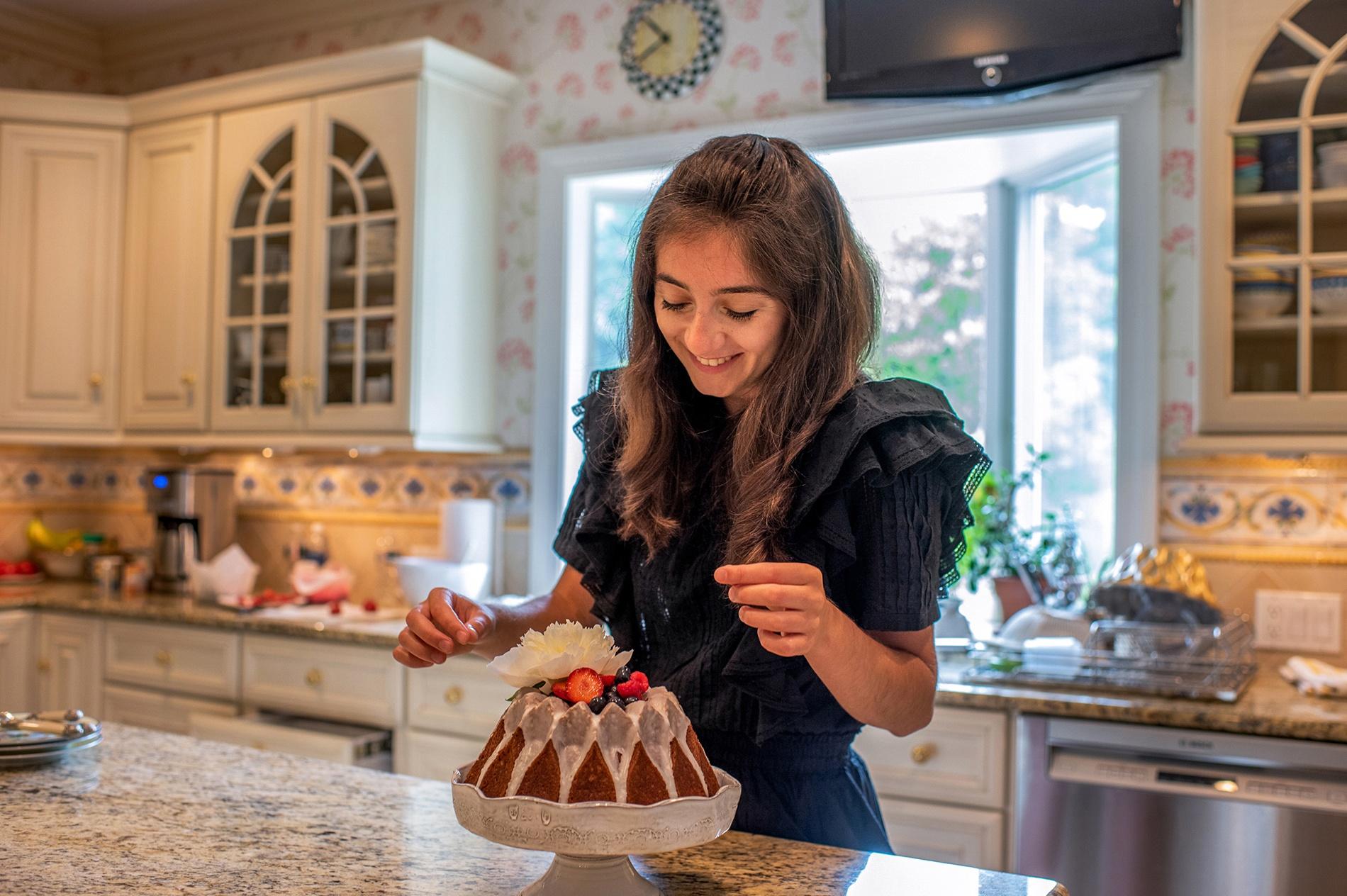 portrait of Anessa Petteruti in her home
