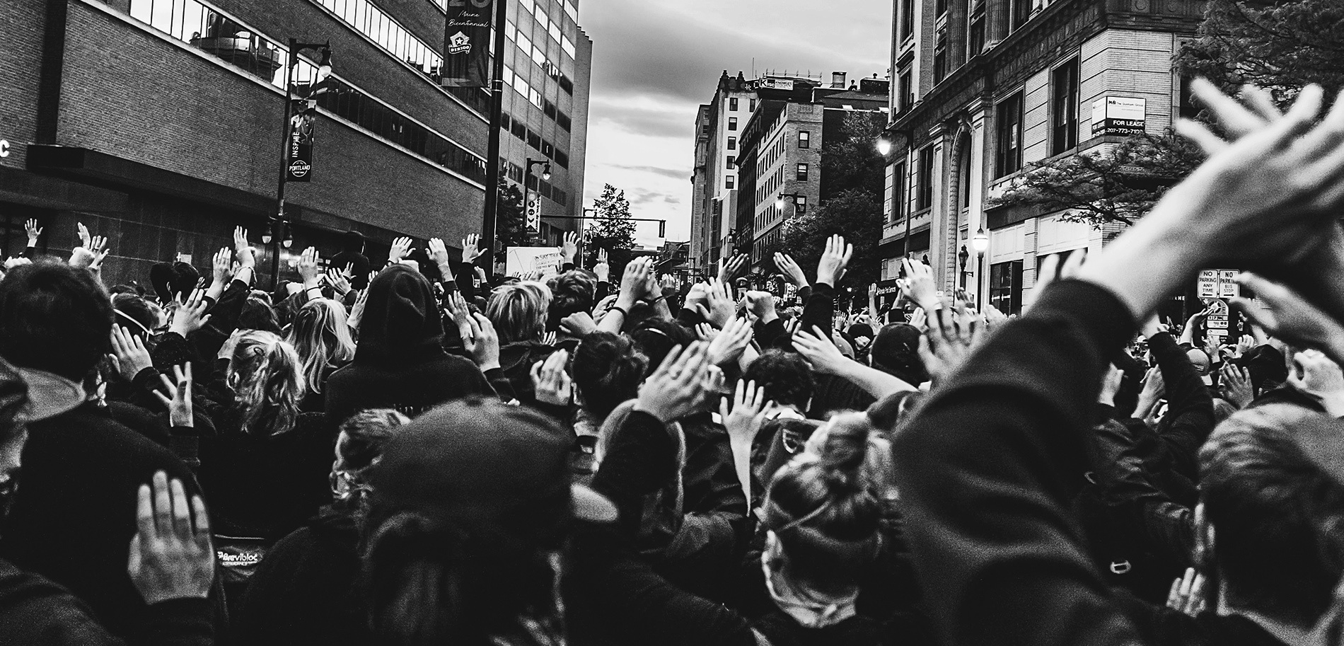Image of protestors