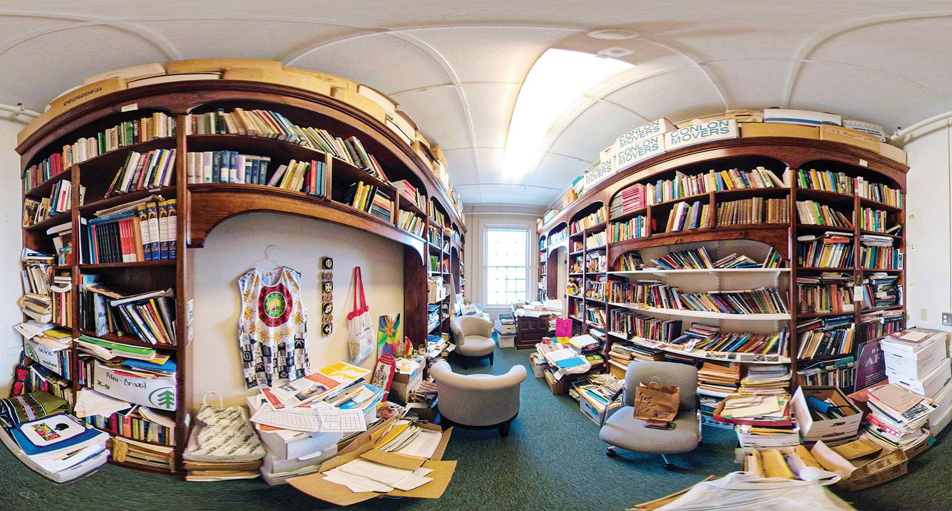 Image of Dzidzienyo's office