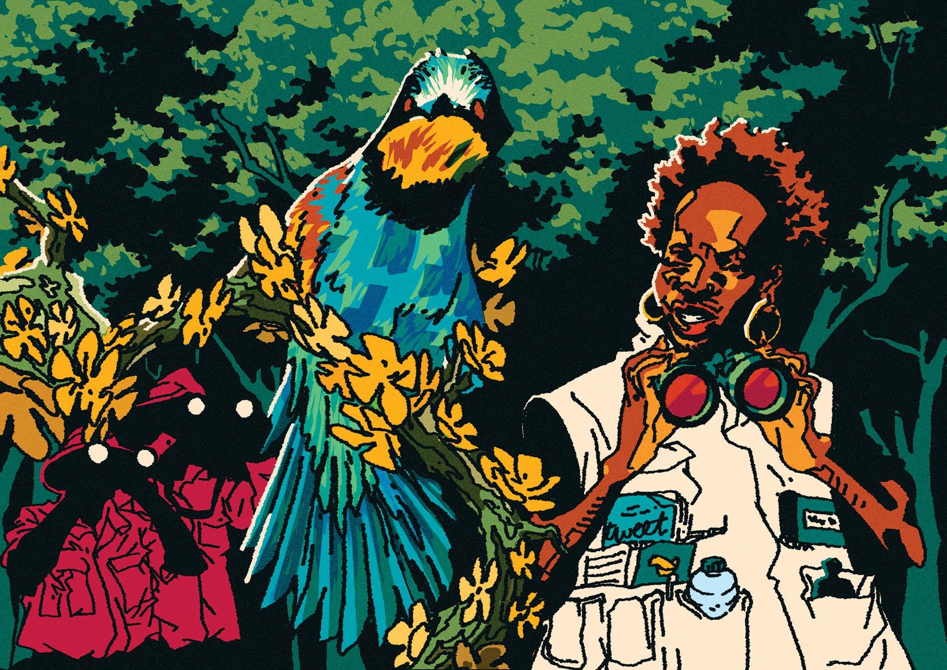 Illustration by Pola Maneli