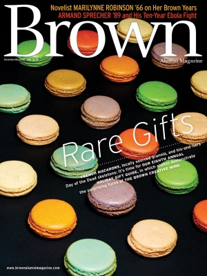 Cover of the November/December 2014 issue of Brown Alumni Magazine