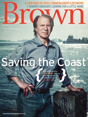 Cover of the July/August 2015 issue of Brown Alumni Magazine