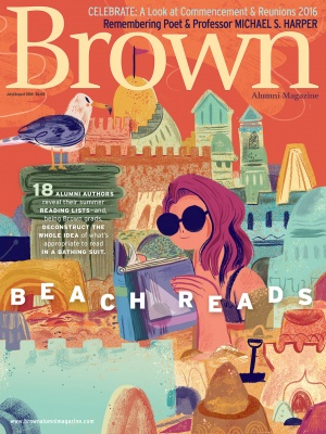 Cover of the July/August 2016 issue of Brown Alumni Magazine