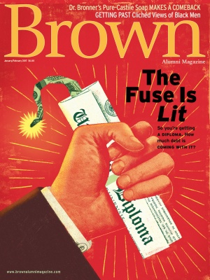 Cover of the January/February 2017 issue of Brown Alumni Magazine