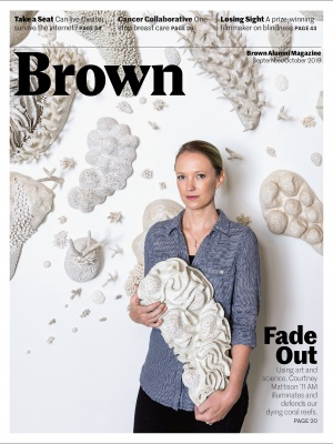 Sept/Oct 2019 cover featuring portrait of Courtney Mattison