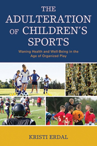 Book cover image(s) of children engaging in organized sports