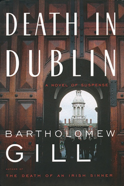 Book cover image showing street scene in Dublin, Ireland